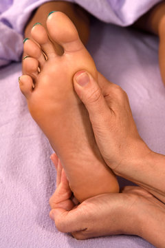 Foot Massage Relaxation