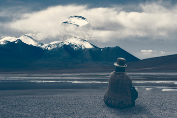 Bolivia, a place you feel like you are in a dream and the landscape around you is a painting, between real and surreal.