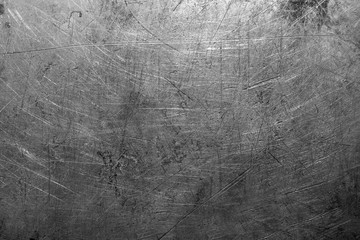 Old scratched steel texture
