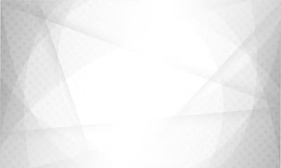 design white light & grey geometric background halftone style. vector EPS10 Fototapete