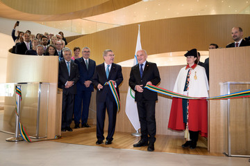 Inauguration of new IOC HQ in Lausanne