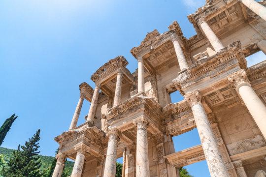Historical Celsus Library in Ephesus