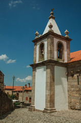 Bell tower from church in baroque style
