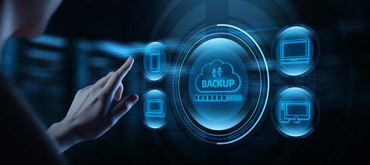 Backup Storage Data Internet Technology Business concept Fotomurales