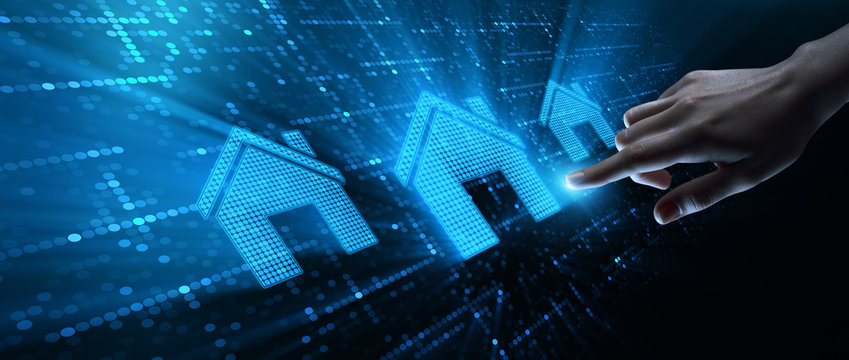 Real Estate Mortgage Property Management Rent Concept