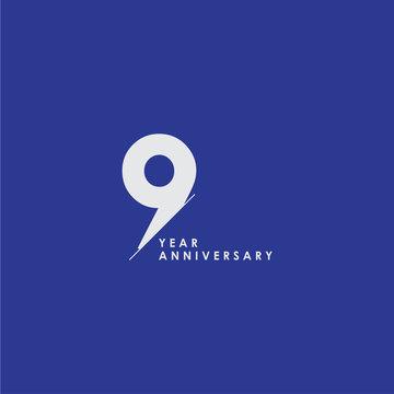 99 Years Anniversary Celebration Vector Template Design Illustration