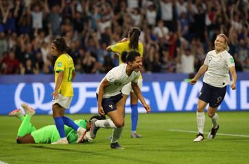 Women's World Cup - Round of 16 - France v Brazil