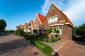 Volendam - small historical Dutch village, Netherlands