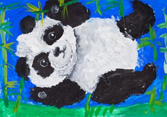 Child picture of panda
