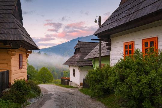 Vlkolinec, Slovakia.