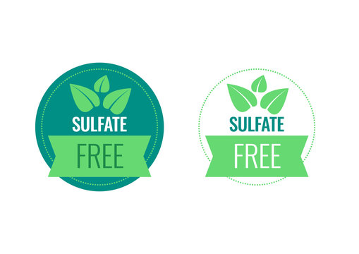 Sulfate Free sign or stamp symbol. Vector illustration