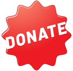donate web Sticker Button