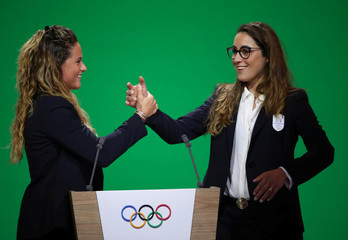 134th session of International Olympic Committee in Lausanne