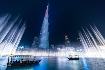 Keuken foto achterwand Dubai The Dubai Fountain