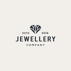 Diamond logo design concept. Universal diamond logo.