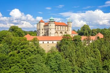 Obraz Wisnicz Castle - Poland - fototapety do salonu
