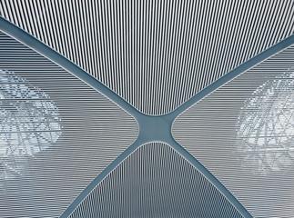 high technology modern metal ceiling structure