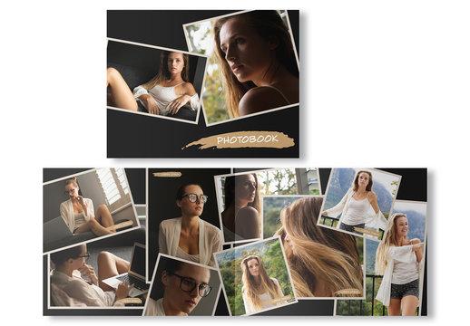 Photobook Collage Layout