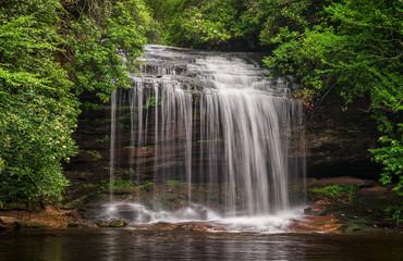 North Carolina Waterfall - Schoolhouse falls