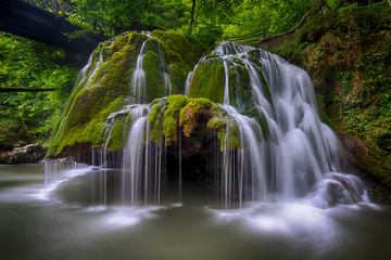 Long exposure image of Bigar Falls from Romania. This is considered one of the most beautiful waterfalls from the world
