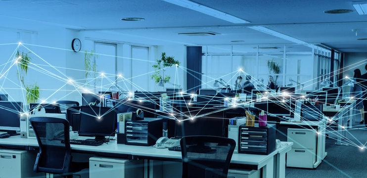 オフィスとネットワーク