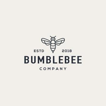 Bee logo design concept. Universal bee logo.