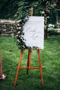 Wedding details. Wedding decor. Wedding style.