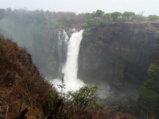 Foto auf Acrylglas Fantasie-Landschaft Afrika, Berg, Landschaft, Wasserfall, Canyon, Phantasy