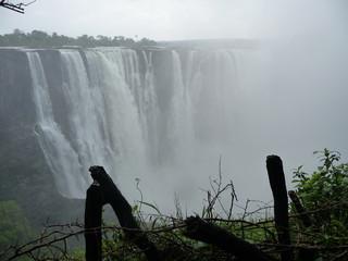 Foto op Aluminium Fantasie Landschap Afrika, Berg, Landschaft, Wasserfall, Canyon, Phantasy