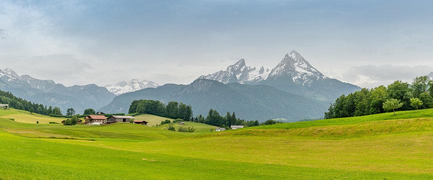 watzmann in Berchtesgadener land, bavaria, germany