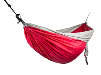 hammock on white background