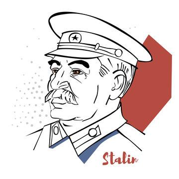 Joseph Stalin Portrait