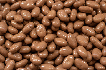 Chocolate almond grains. It was taken in front of the store.