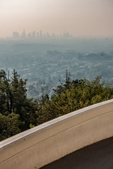 Wall Mural - Famous Griffith observatory in Los Angeles california