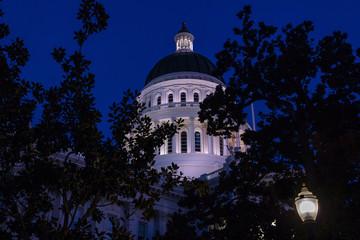 California State Capital at Night-01