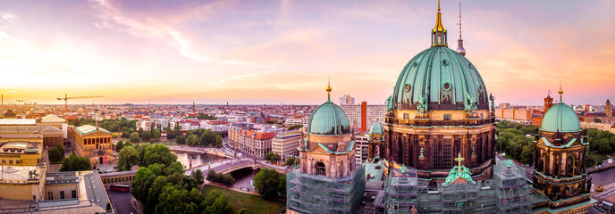 Berliner dom after sunset, Berlin