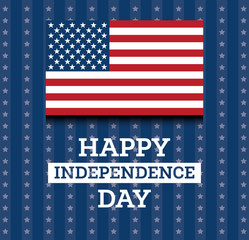 4th of July United States National Independence Day.