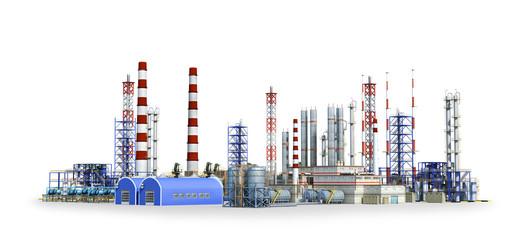 modern factory indoor