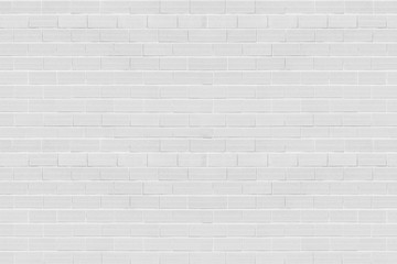 Spoed Foto op Canvas Baksteen muur white brick wall background texture