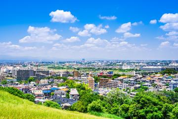 Fototapeta 東京郊外の住宅地 obraz