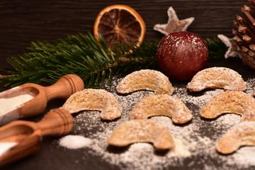 Weihnachtsplätzchen Vanillekipferl