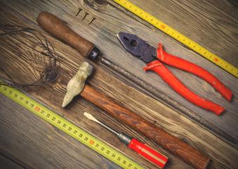 locksmith tools still life