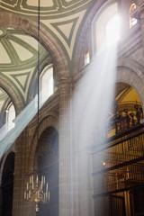 Interior of Mexico City Metropolitan Cathedral