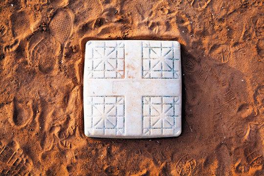 Base on Baseball Field