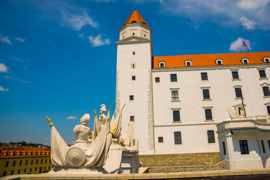 Bratislava,Slovakia: Bratislava Castle or Bratislavsky Hrad is the main castle of Bratislava, capital of Slovakia.