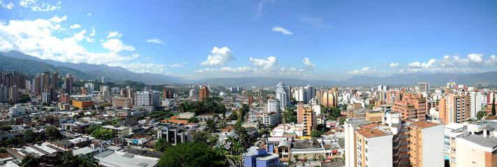 Bucaramanga, Santander, Colombia. September 9, 2009: Panoramic of Bucaramanga city