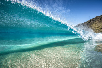 Wall Mural - clear wave