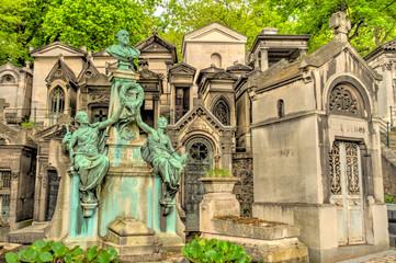 Wall Mural - Père Lachaise Cemetery in Paris