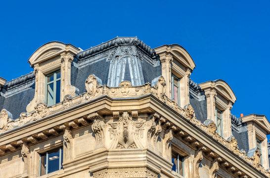 France, Paris, 4th arrondissement, Ile de la Cite, building of Conseil des Prudhommes (Labour Court) of the Seine river, Louis Lepine square