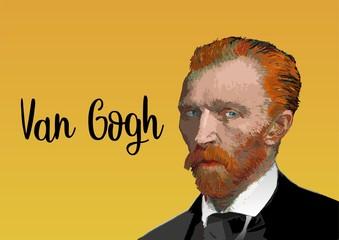 Fototapeta Vincent Van Gogh portrait